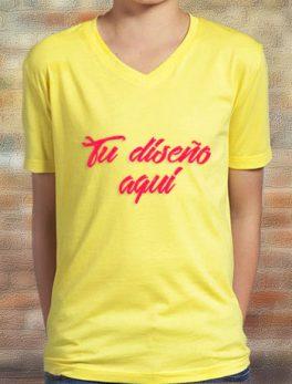 Camisa cuello r infantil